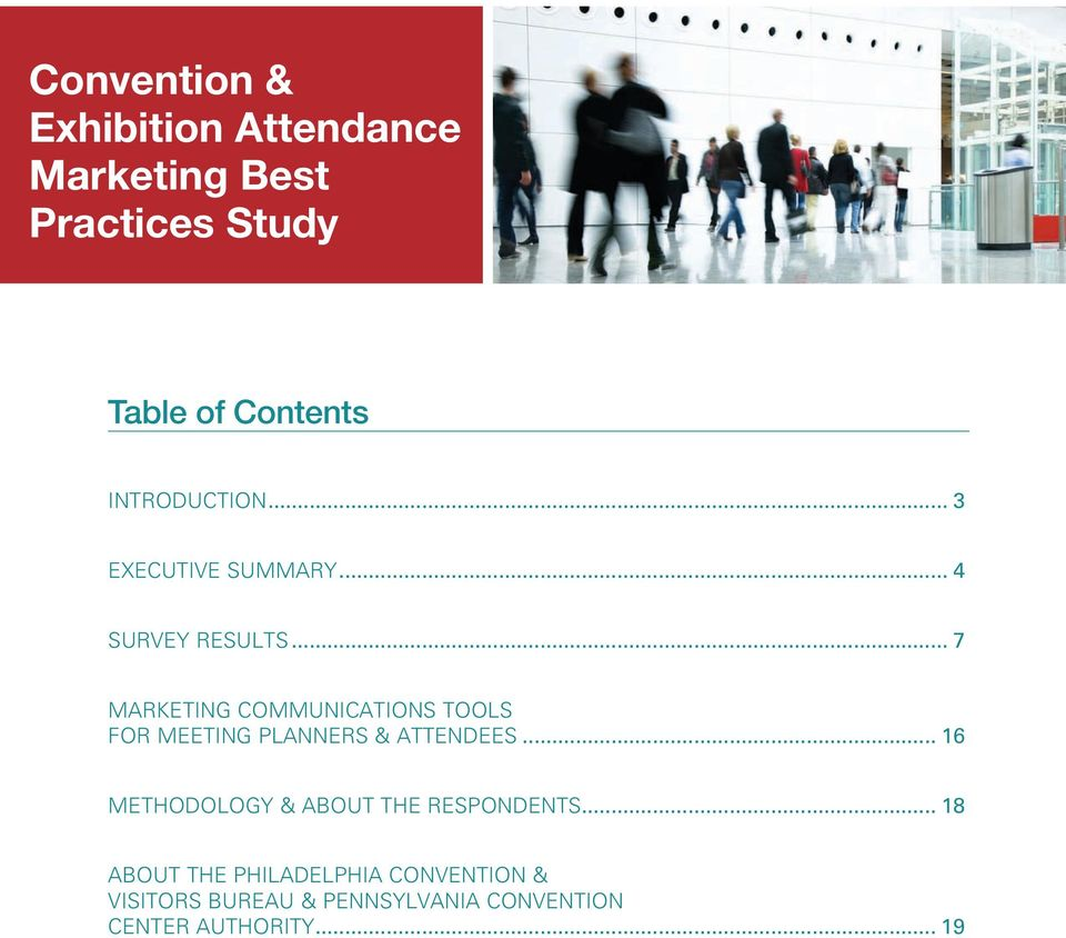 .. 7 MARKETING COMMUNICATIONS TOOLS FOR MEETING PLANNERS & ATTENDEES.