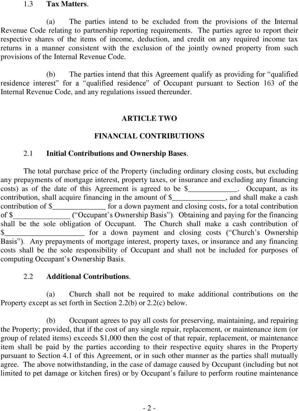 property from such provisions of the Internal Revenue Code.
