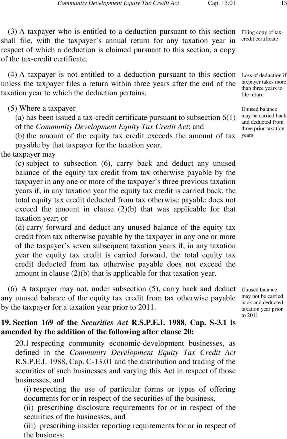 this section, a copy of the tax-credit certificate.