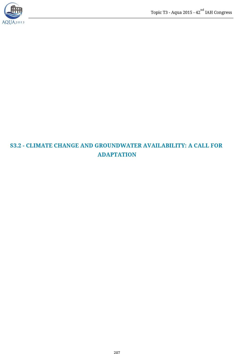2 - CLIMATE CHANGE AND