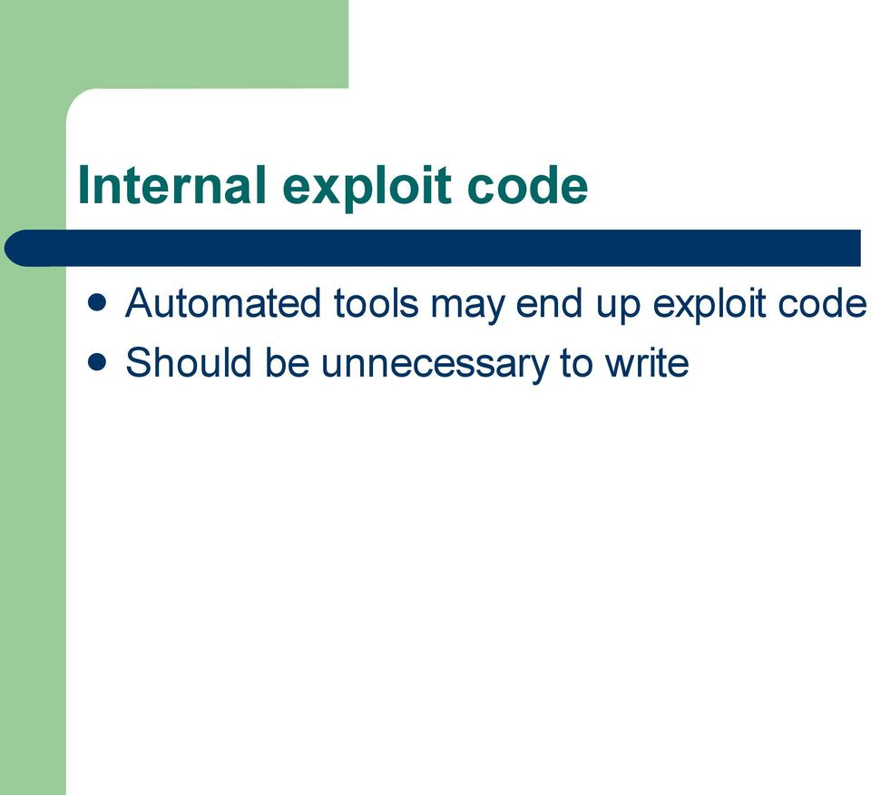 end up exploit code
