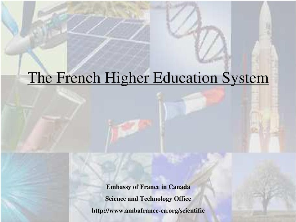 Canada Science and echnology