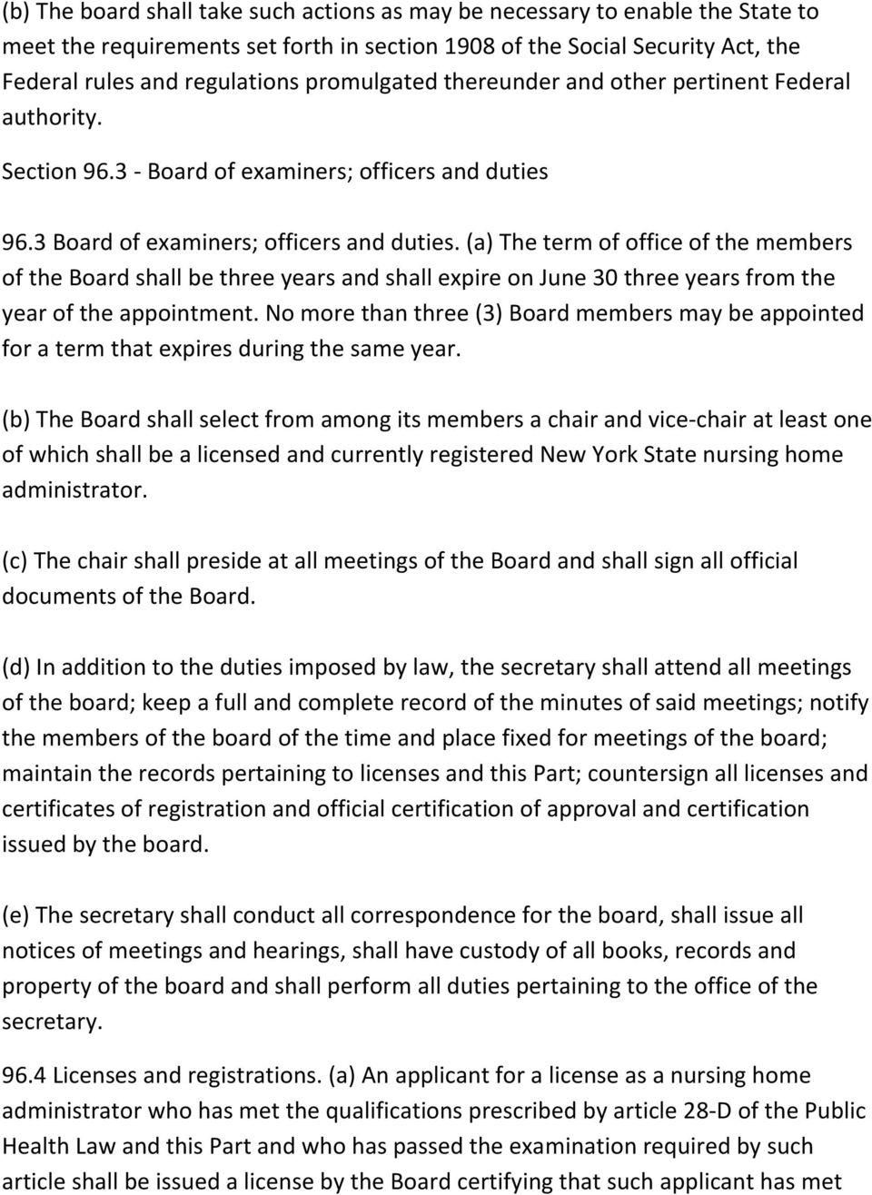 (a) The term of office of the members of the Board shall be three years and shall expire on June 30 three years from the year of the appointment.