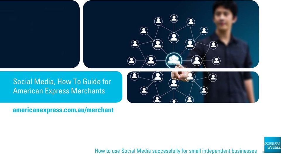 au/merchant How to use Social Media