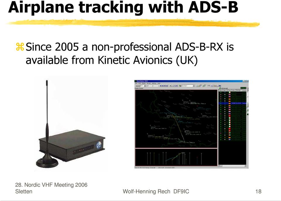 available from Kinetic Avionics