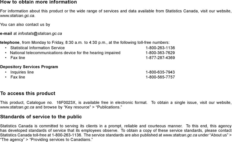 il at infostats@statcan.gc.ca telephone, from