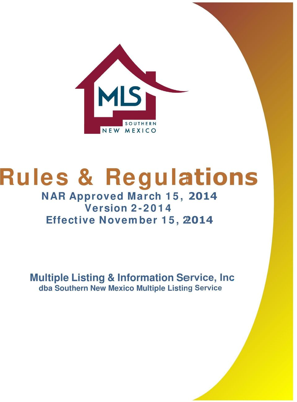2014 Multiple Listing & Information Service,