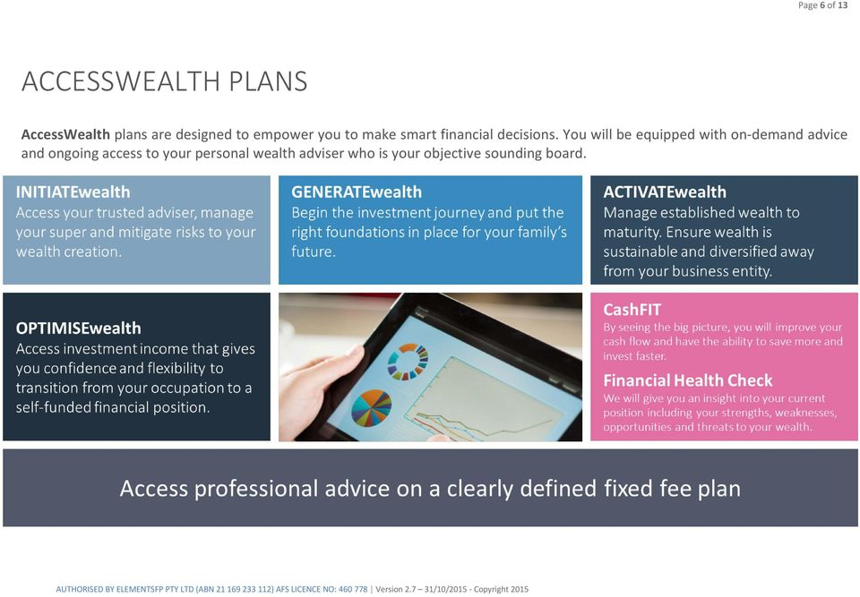 You will be equipped with on-demand advice and ongoing access