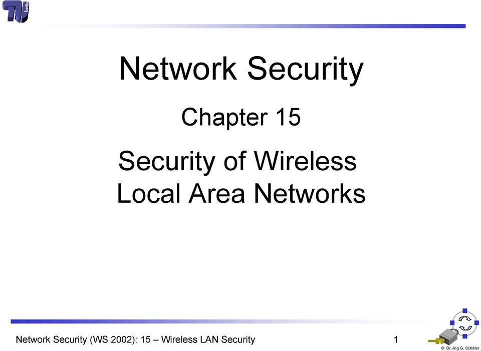 Area Networks Network Security