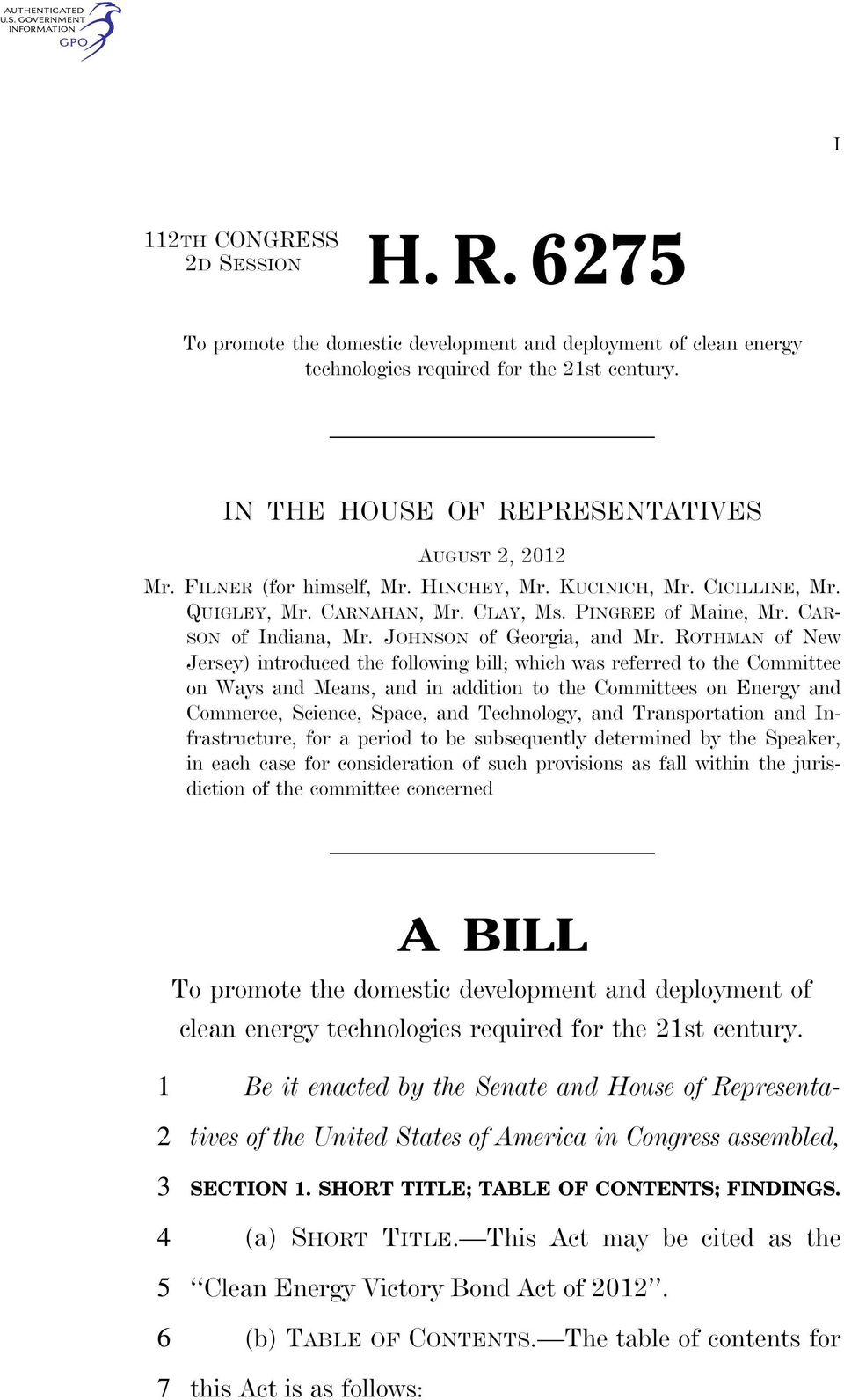 ROTHMAN of New Jersey) introduced the following bill; which was referred to the Committee on Ways and Means, and in addition to the Committees on Energy and Commerce, Science, Space, and Technology,