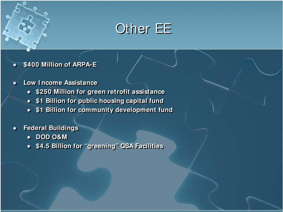 housing capital fund $1 Billion for community development
