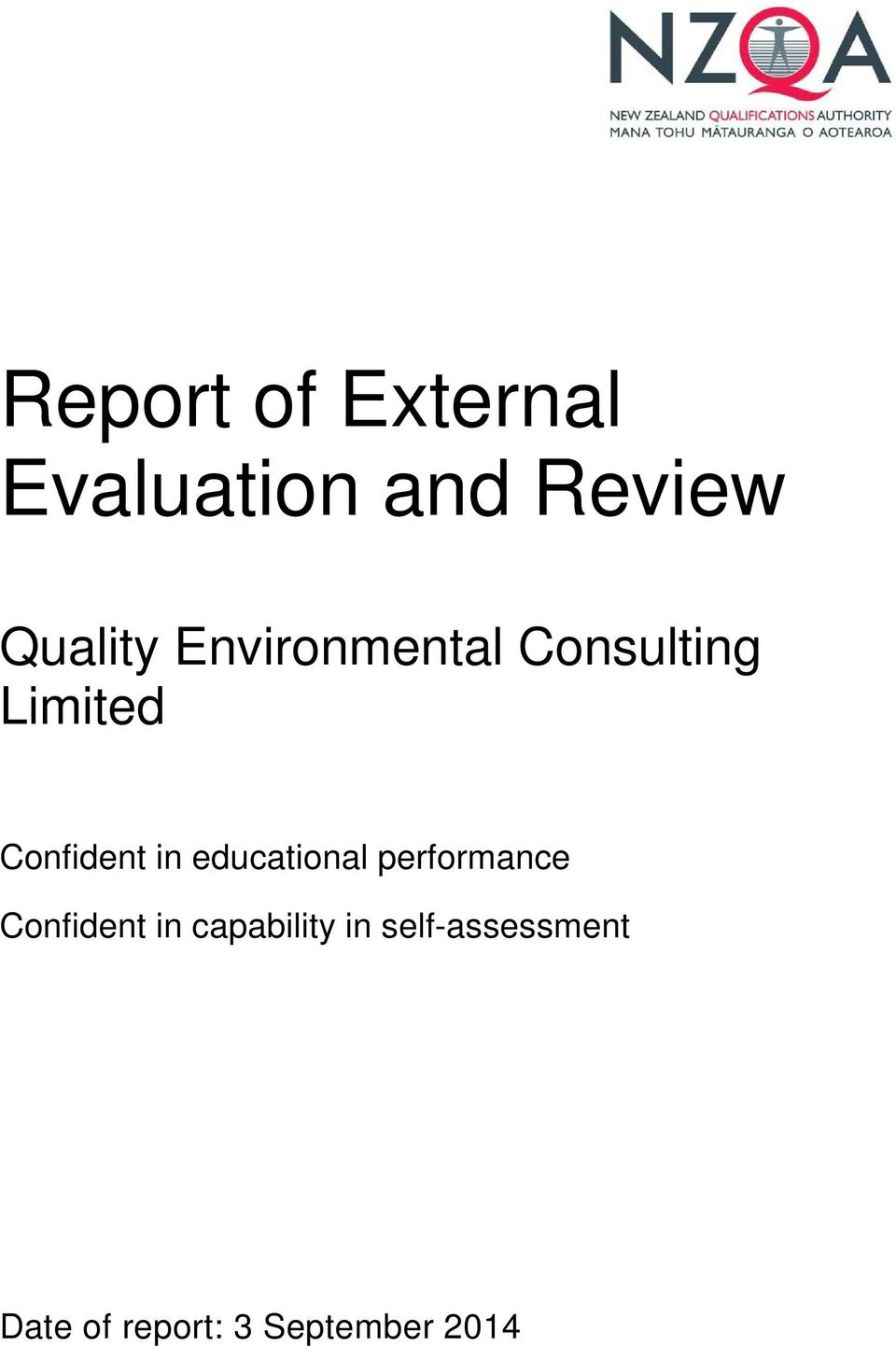 educational performance Confident in capability