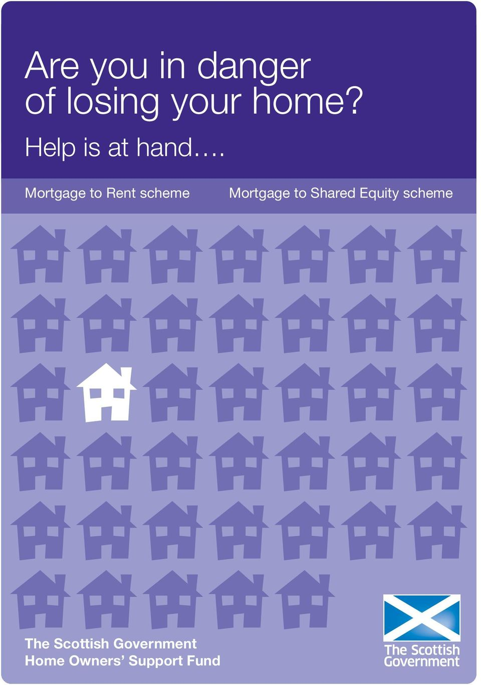 Mortgage to Rent scheme Mortgage to