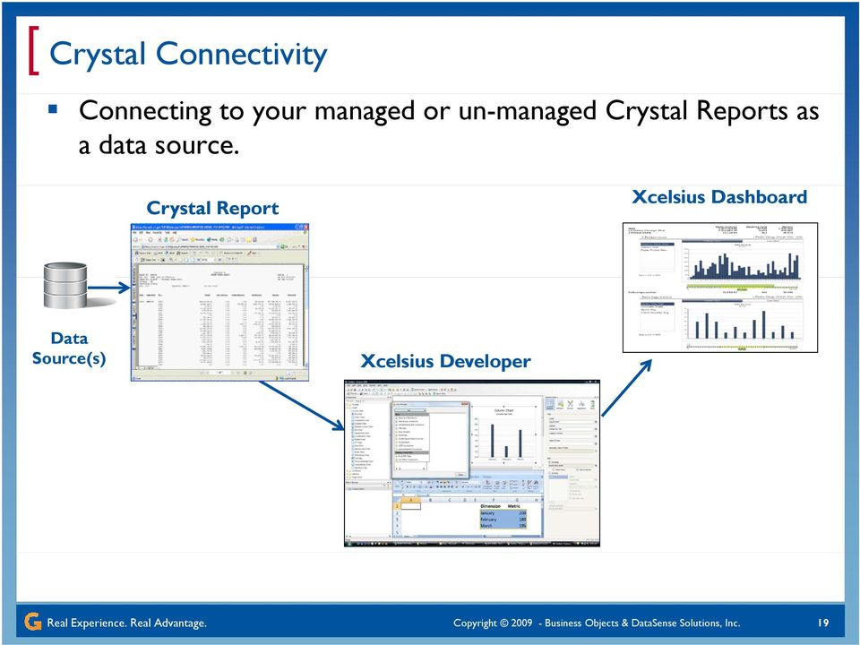 Crystal Report Xcelsius Dashboard Data Source(s) Xcelsius