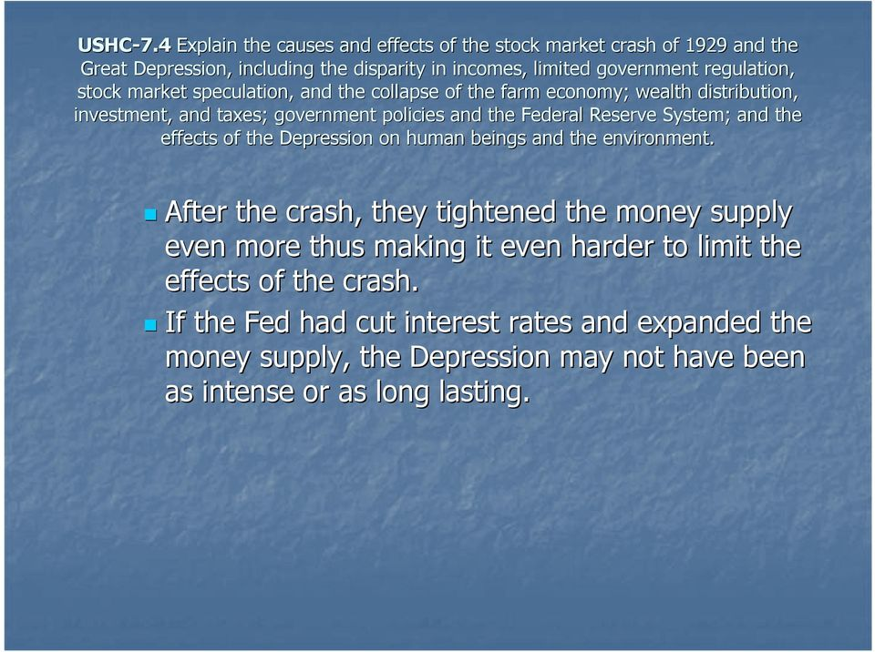 If the Fed had cut interest rates and expanded the money