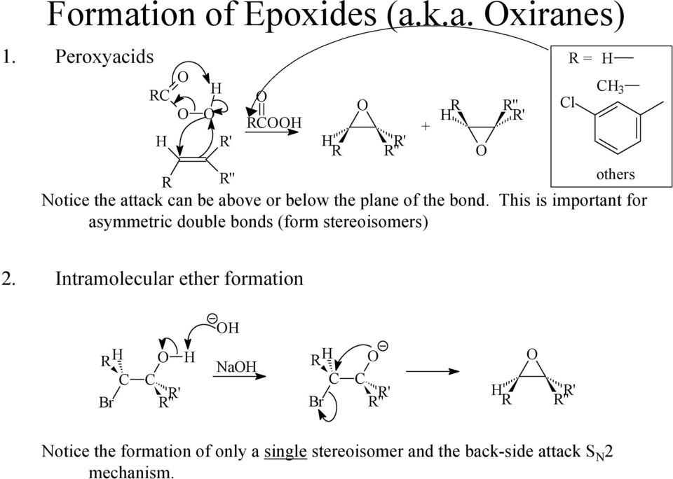 This is important for asymmetric double bonds (form stereoisomers) ' + ' l = 3 2.