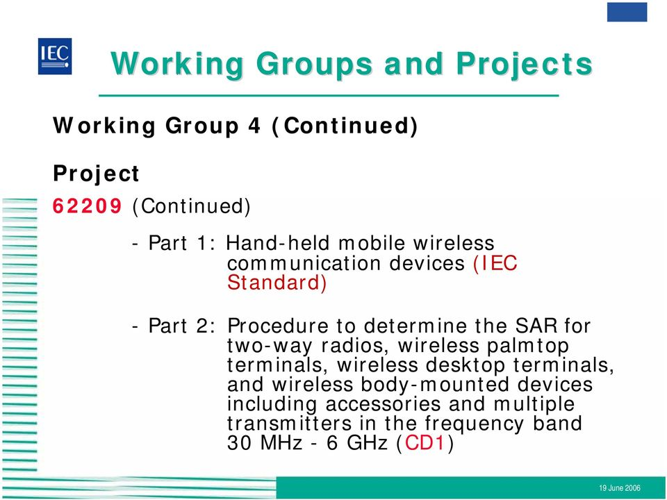 the SAR for two-way radios, wireless palmtop terminals, wireless desktop terminals, and wireless