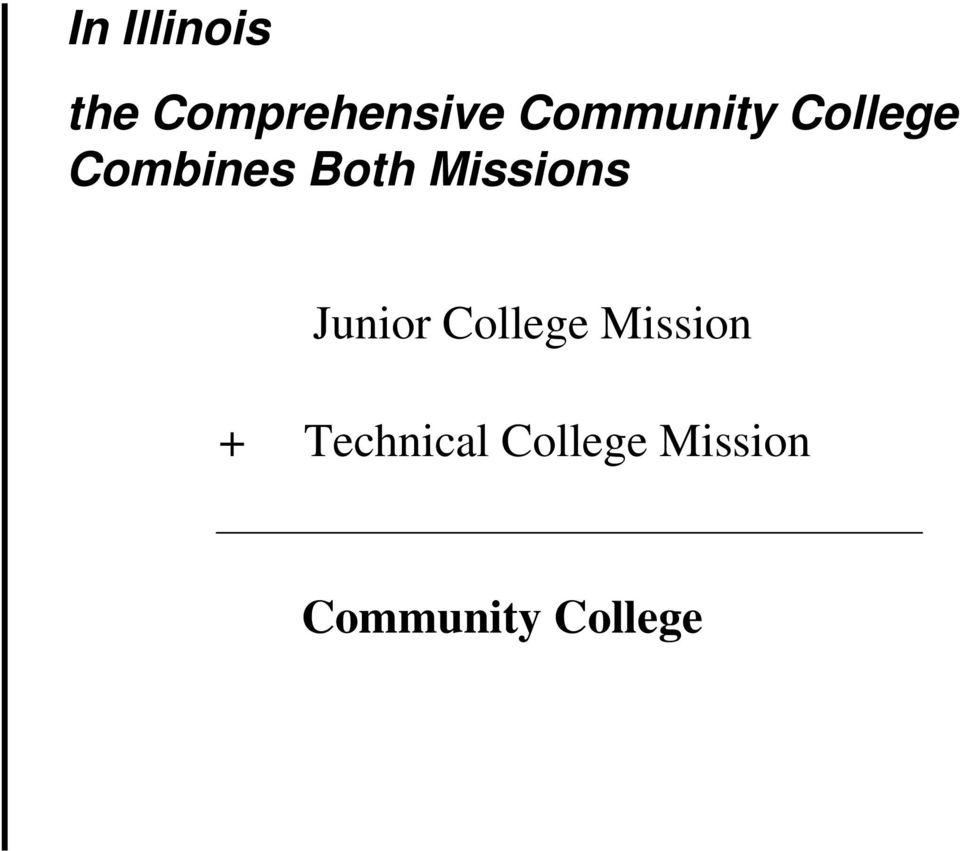 Missions Junior College Mission +