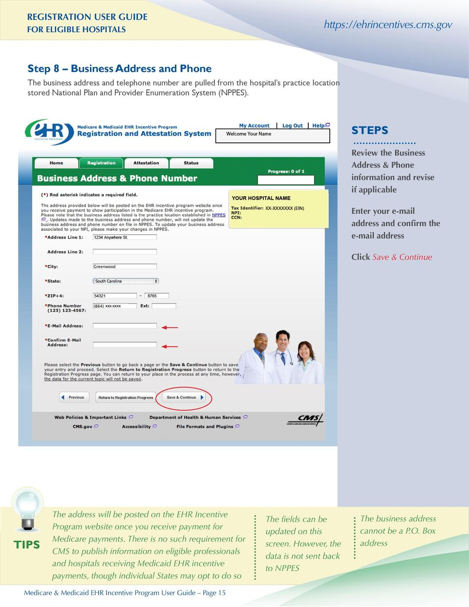 Program website once you receive payment for Medicare payments.