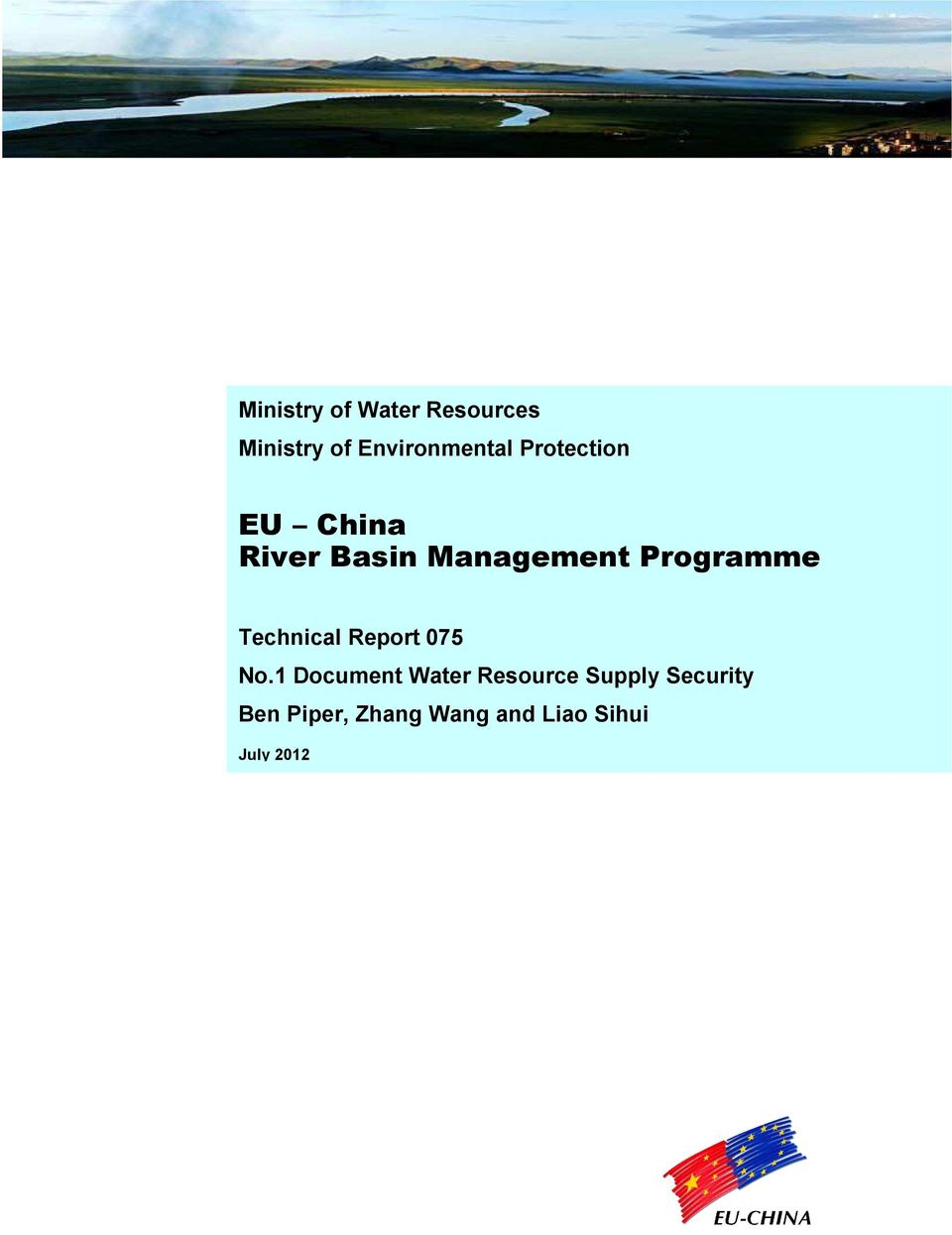 Basin Management Programme Technical Report