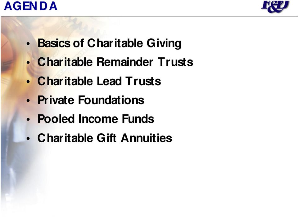 Charitable Lead Trusts Private