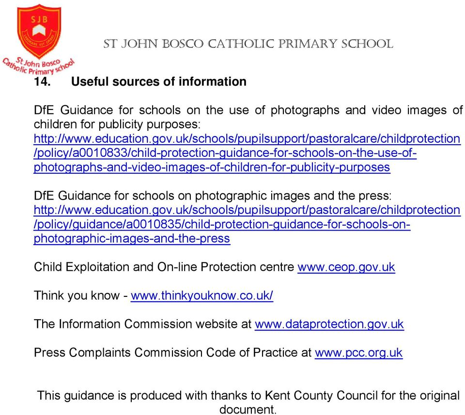 for schools on photographic images and the press: http://www.education.gov.