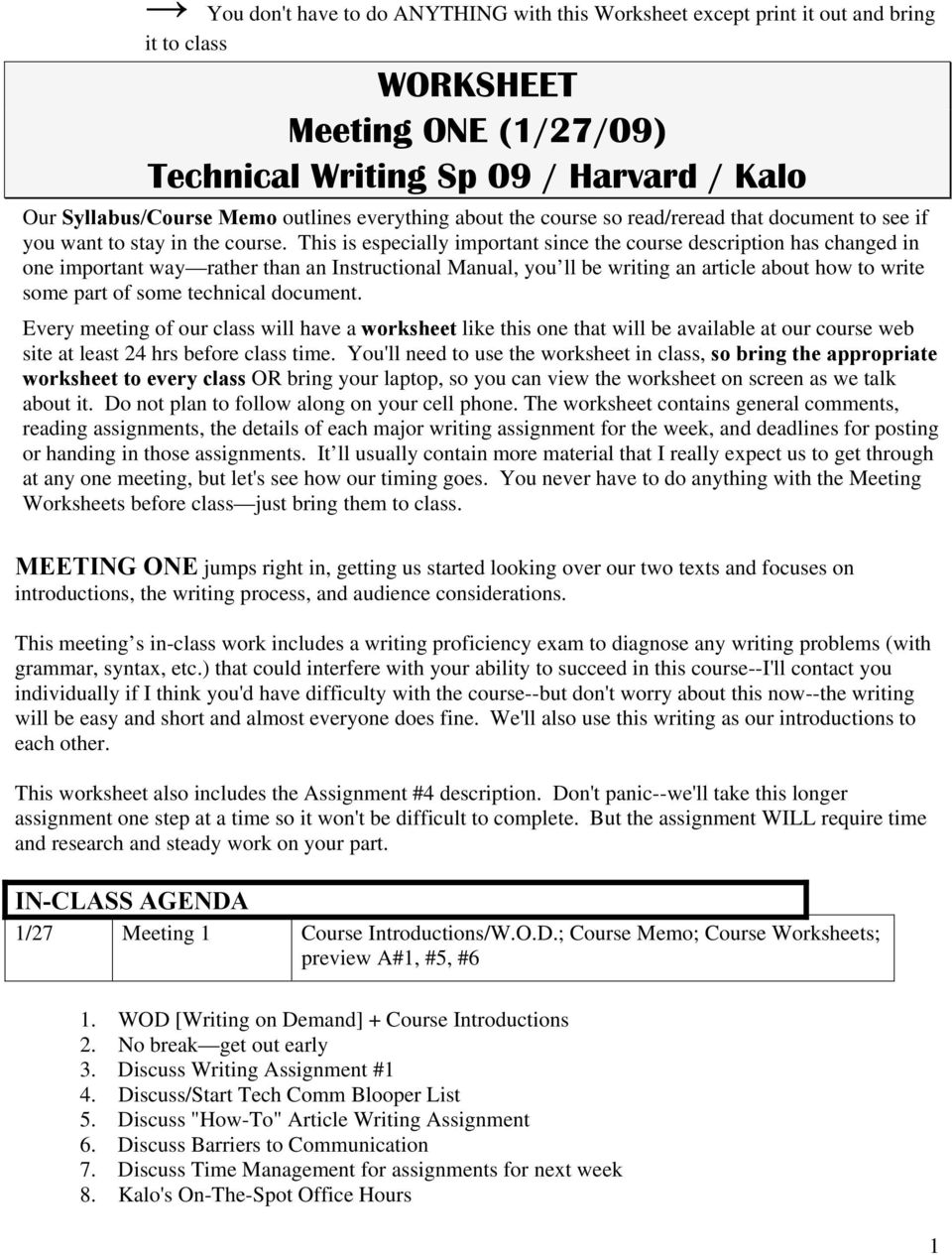 This is especially important since the course description has changed in one important way rather than an Instructional Manual, you ll be writing an article about how to write some part of some