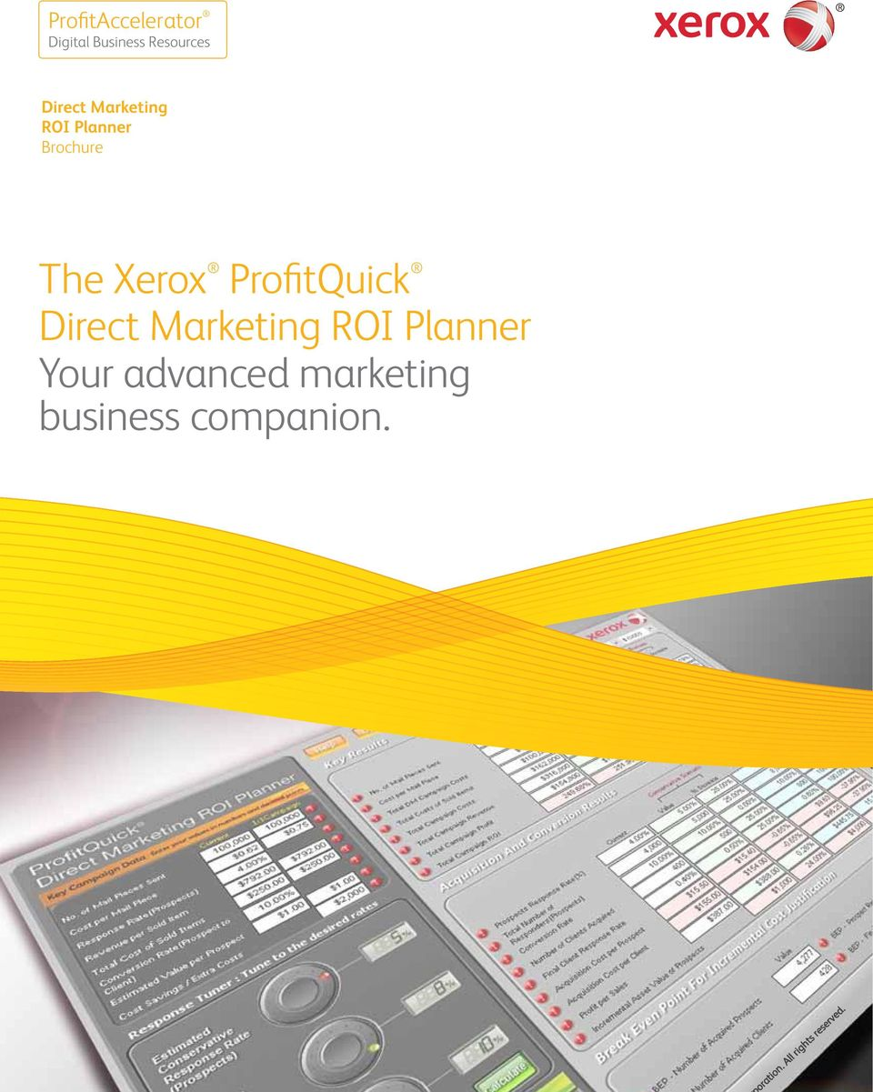 Xerox ProfitQuick Direct Marketing ROI