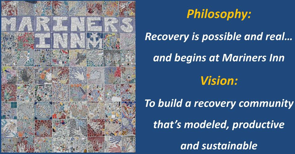 Vision: To build a recovery community