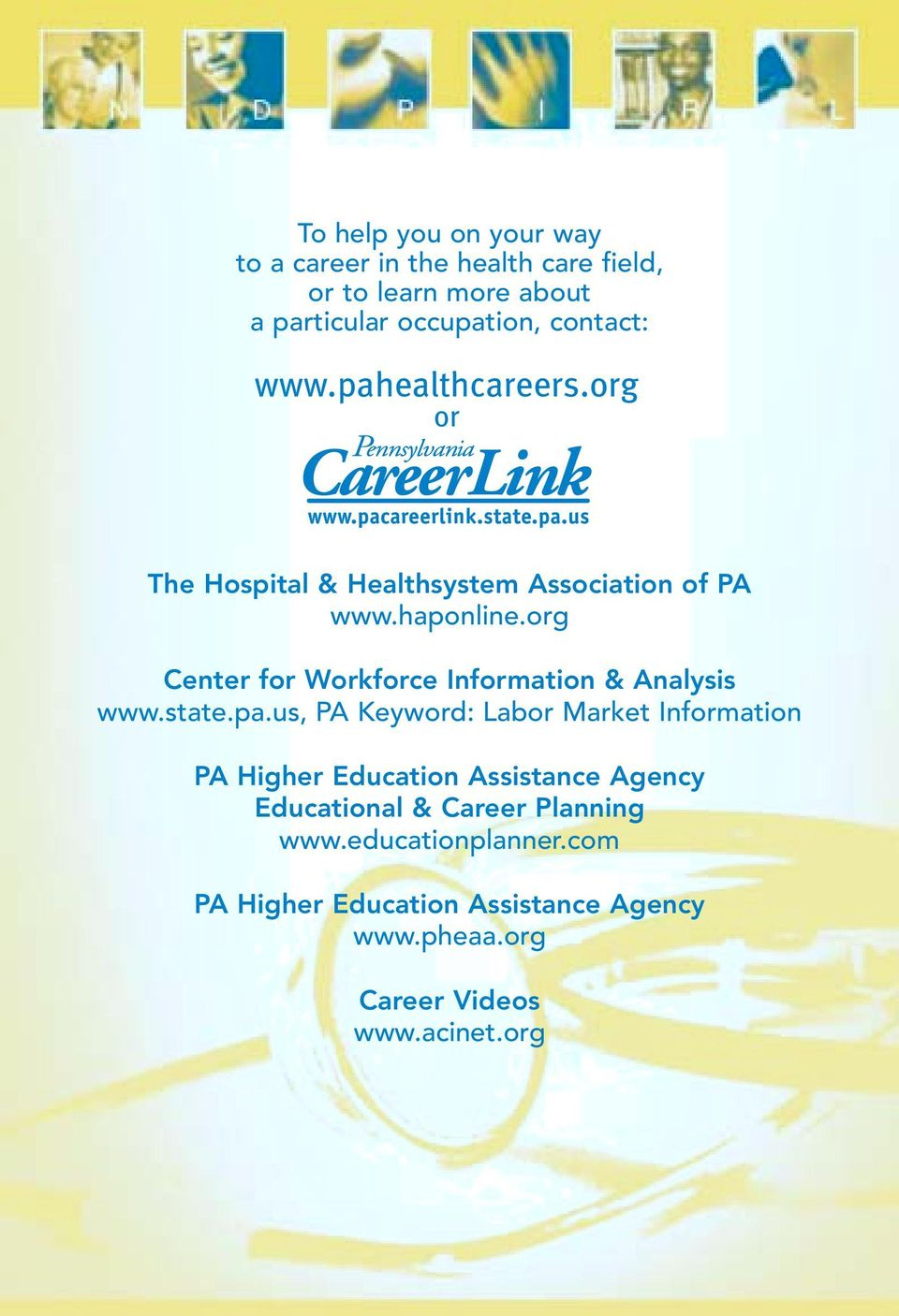 org Center for Workforce Information & Analysis www.state.pa.