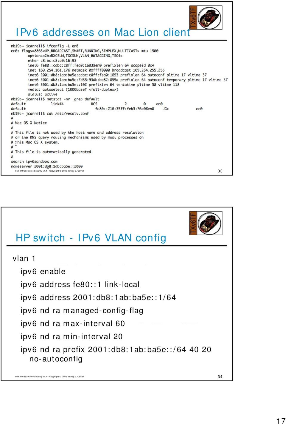2001:db8:1ab:ba5e::1/64 ipv6 nd ra managed-config-flag ipv6 nd ra