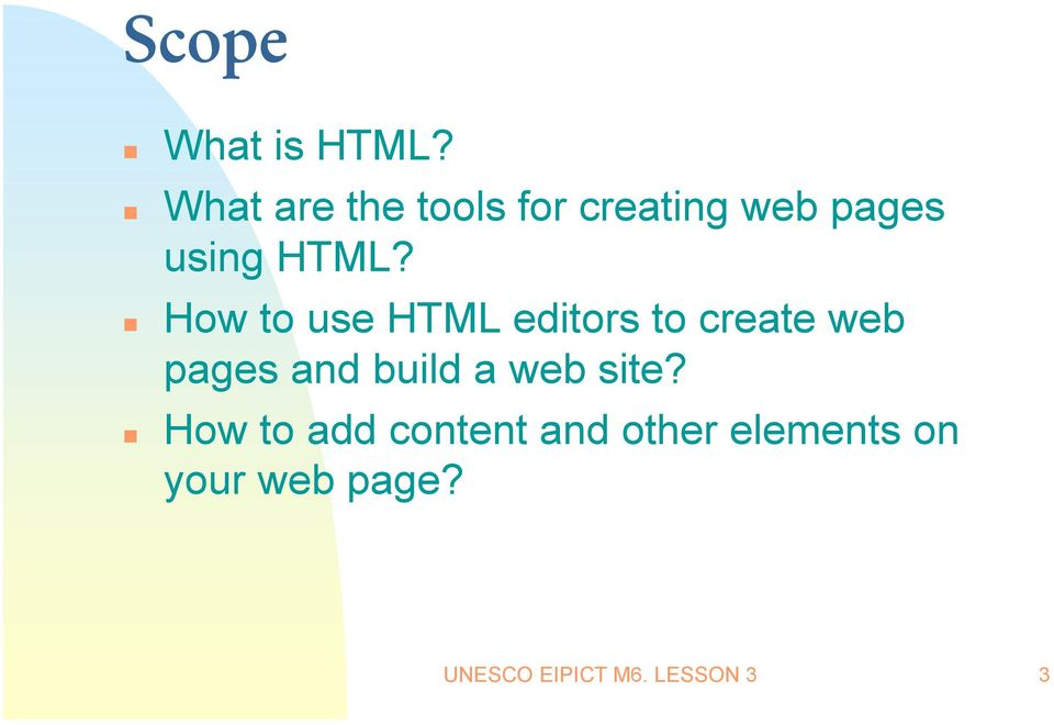 How to use HTML editors to create web pages and build a