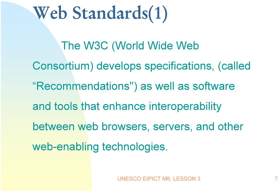 and tools that enhance interoperability between web browsers,