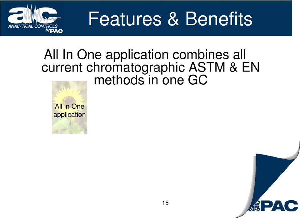 chromatographic ASTM & EN methods