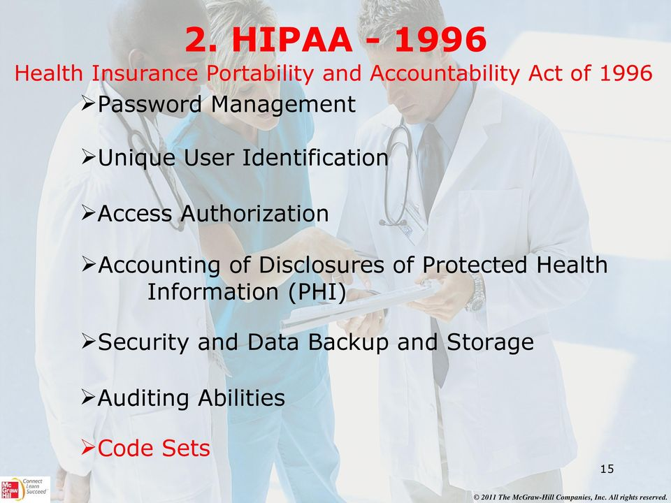 Authorization Accounting of Disclosures of Protected Health
