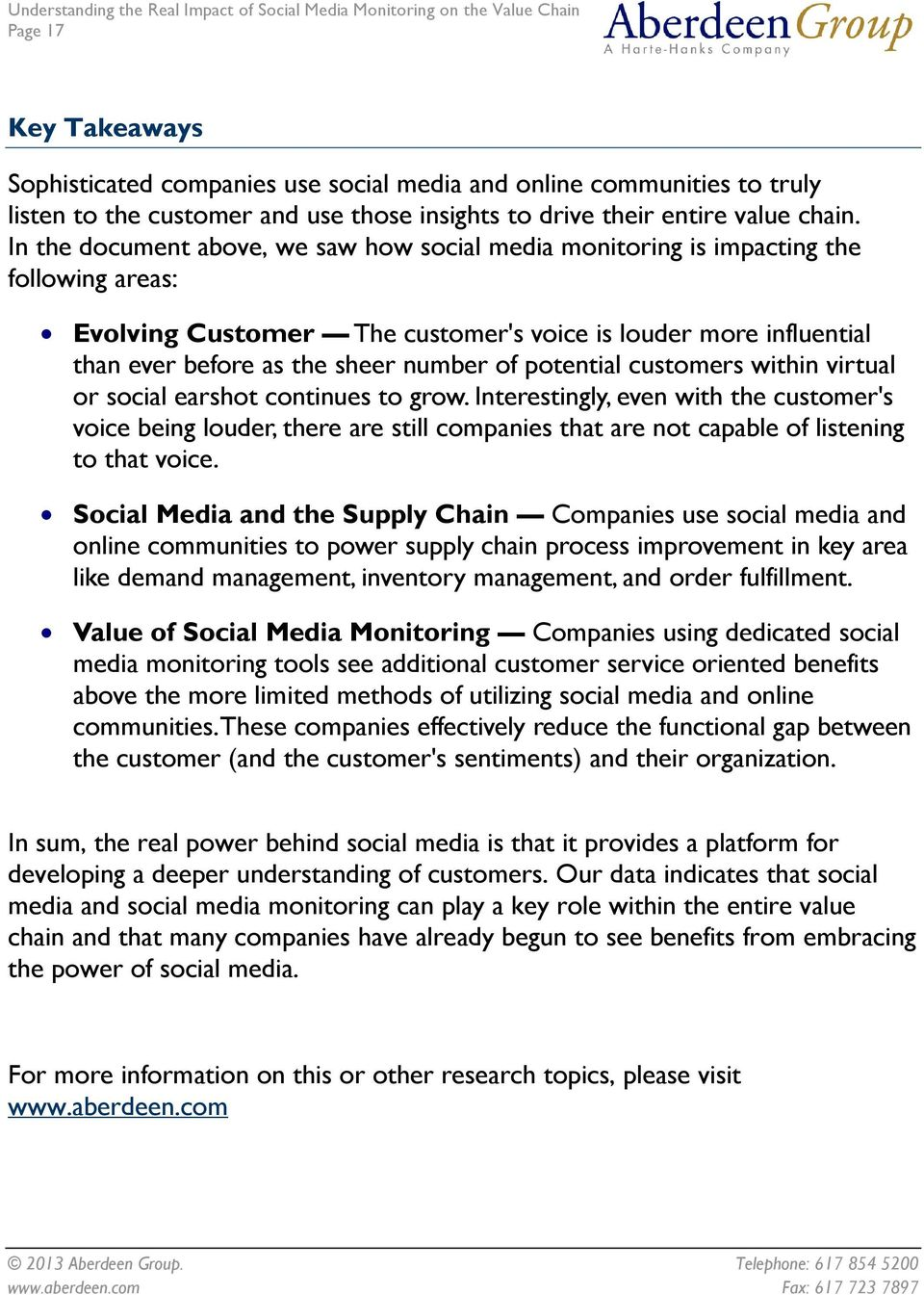 potential customers within virtual or social earshot continues to grow.