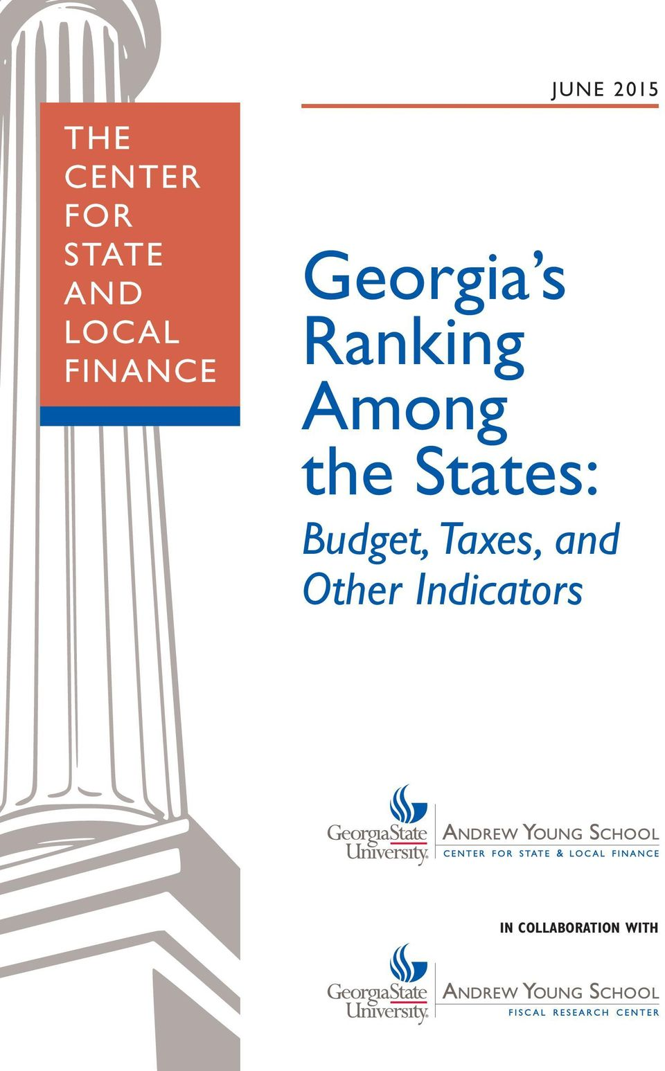 Among the States: Budget, Taxes,