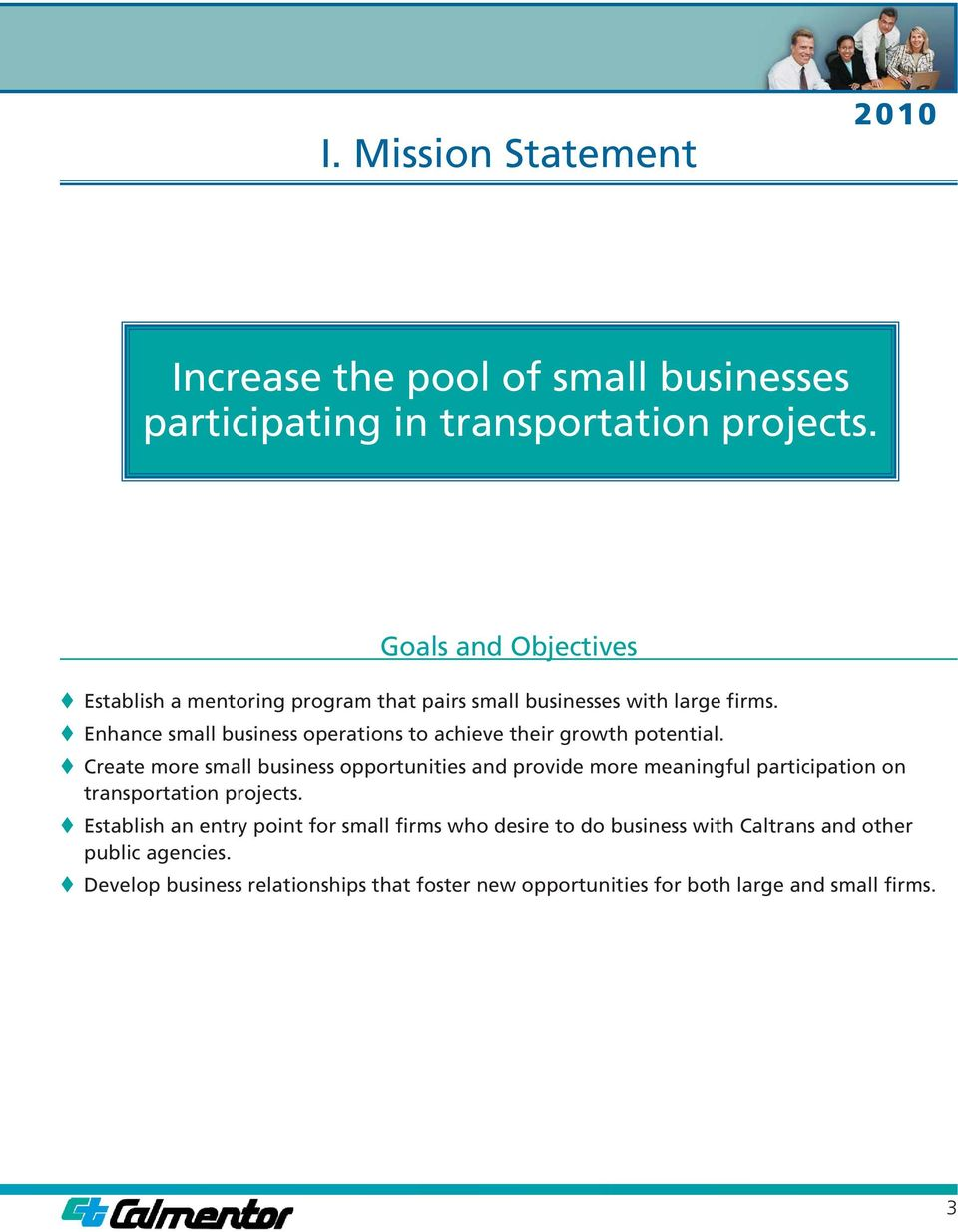 Enhance small business operations to achieve their growth potential.