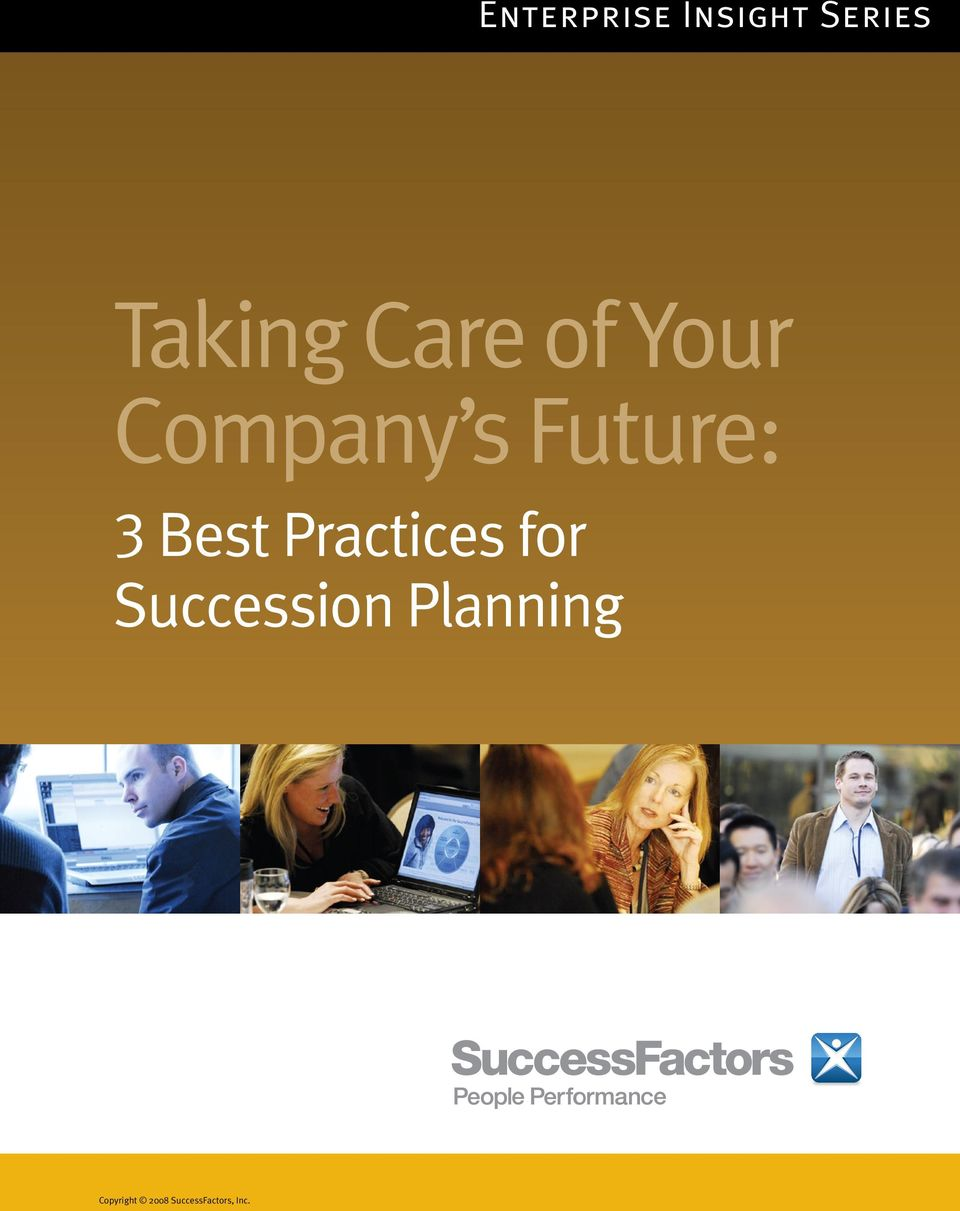 for Succession Planning