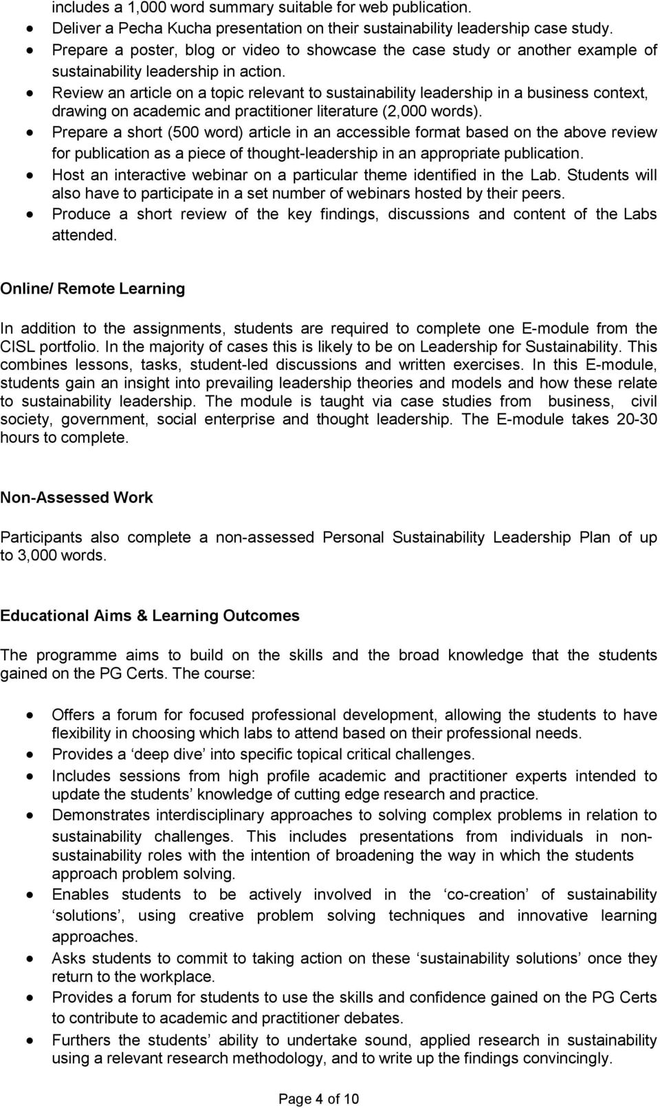 Review an article on a topic relevant to sustainability leadership in a business context, drawing on academic and practitioner literature (2,000 words).