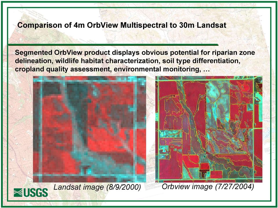 habitat characterization, soil type differentiation, cropland quality