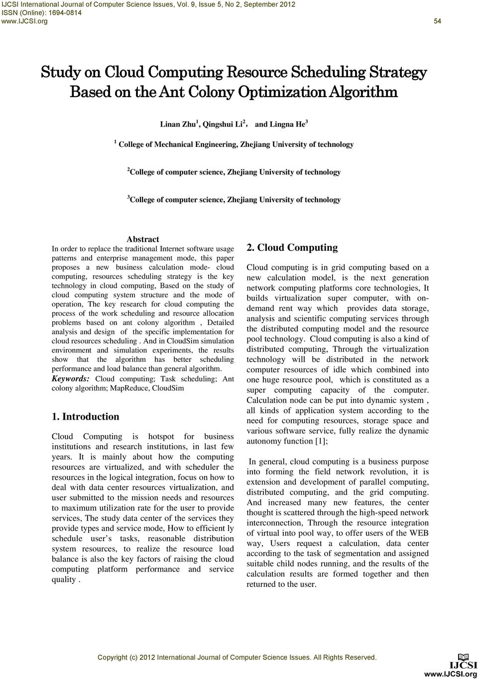 University of technology 2 College of computer science, Zhejiang University of technology 3 College of computer science, Zhejiang University of technology Abstract In order to replace the traditional