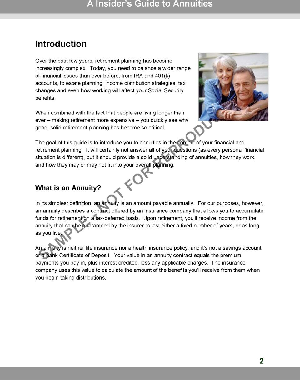affect your Social Security benefits.