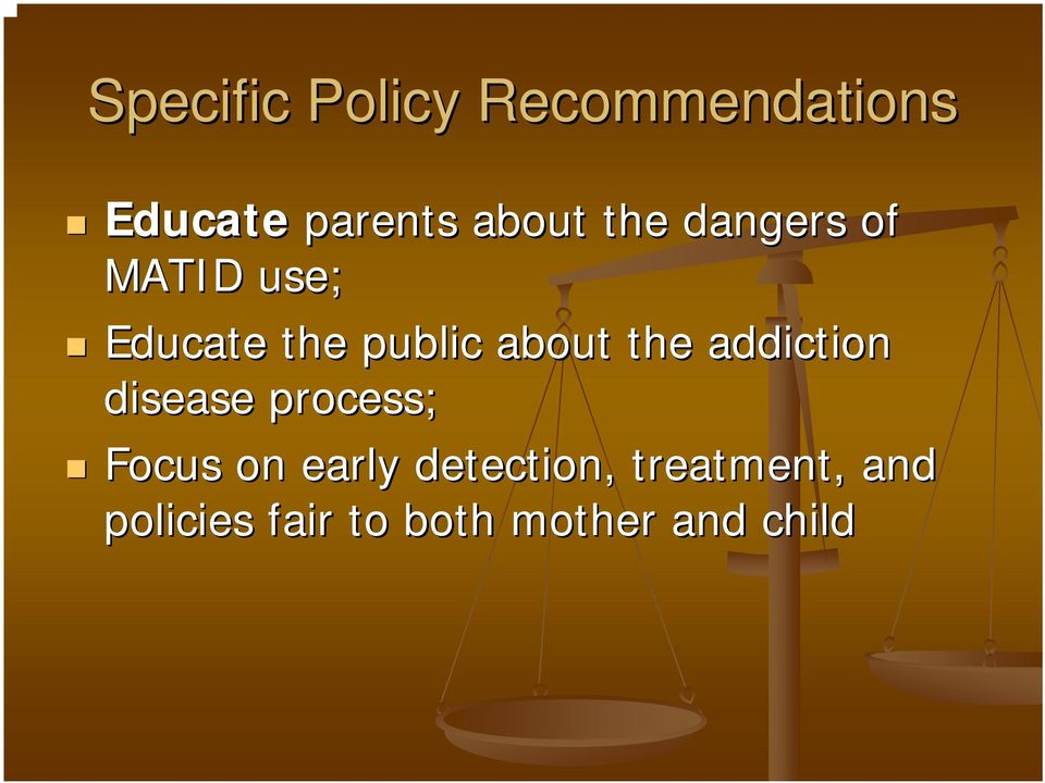 the addiction disease process; Focus on early