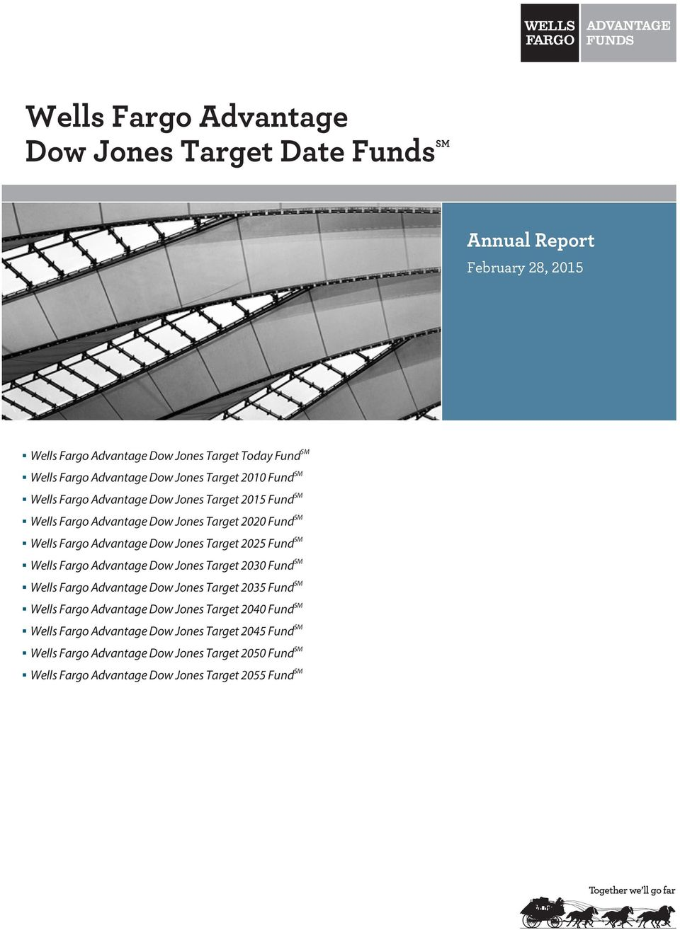 Target 2025 Fund SM Wells Fargo Advantage Dow Jones Target 2030 Fund SM Wells Fargo Advantage Dow Jones Target 2035 Fund SM Wells Fargo Advantage Dow Jones Target