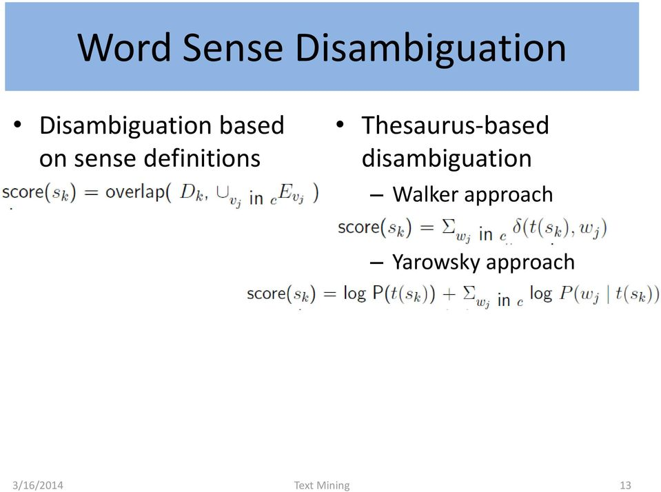 definitions Thesaurus-based