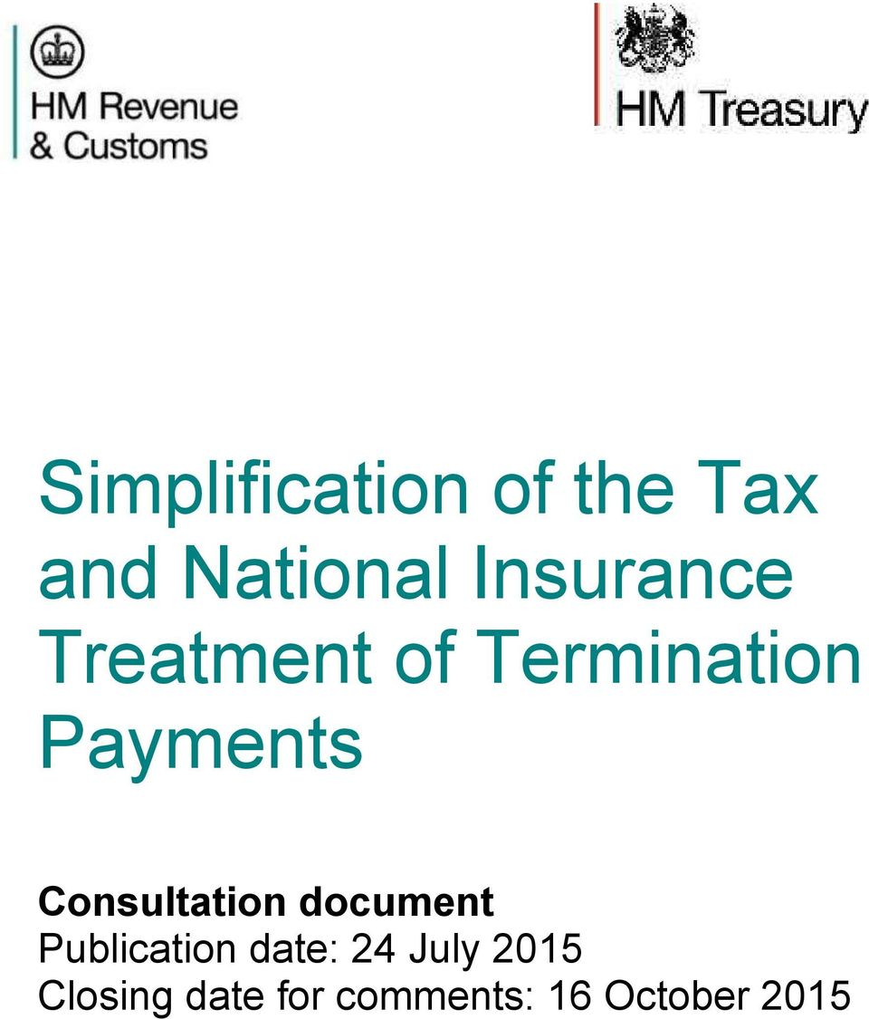 Consultation document Publication date: 24