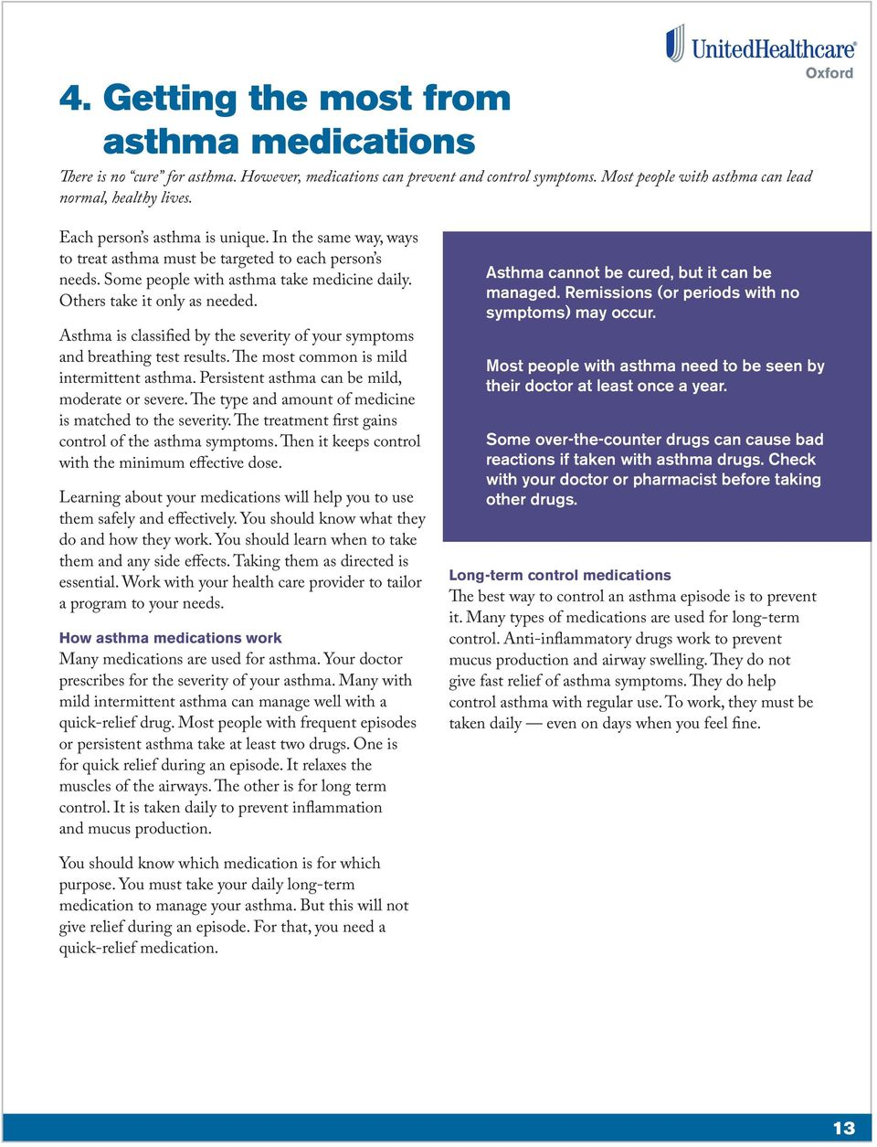asthma symptoms and preventions essay
