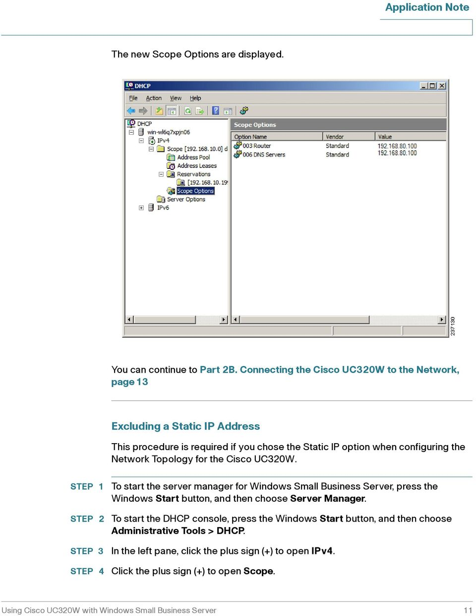 Network Topology for the Cisco UC320W.
