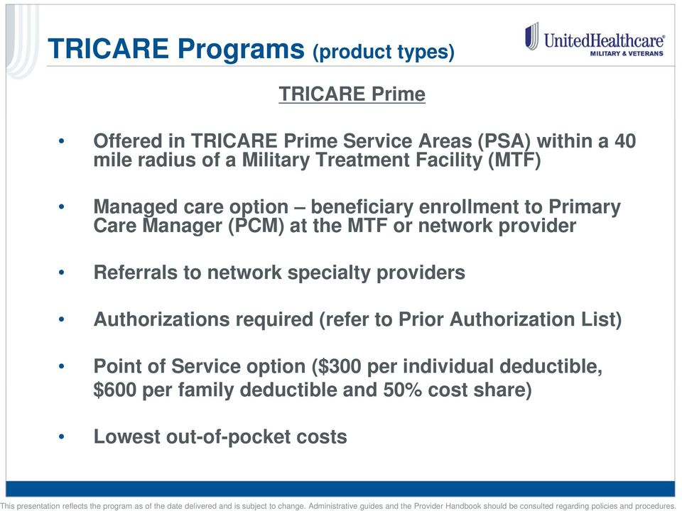 network provider Referrals to network specialty providers Authorizations required (refer to Prior Authorization List)